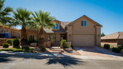Washington Single Family Home For Sale: 1482 E Mesa View Ln