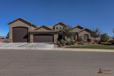 St George Single Family Home For Sale: 383 S 1750 St E