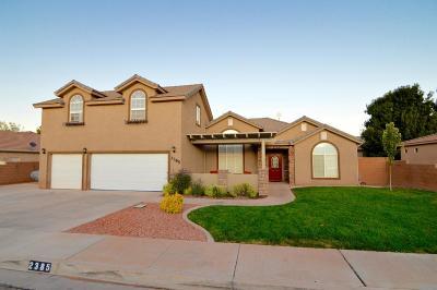 Washington Single Family Home For Sale: 2385 Pasture Ln