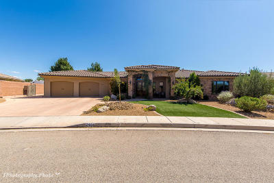 St George Single Family Home For Sale: 2484 E Meadow Mist Way