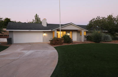 St George Single Family Home For Sale: 3579 S Pomegranate Way