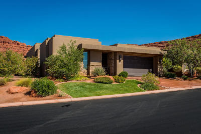 St George Single Family Home For Sale: 2139 W Cougar Rock Cir #192