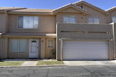 St George UT Condo/Townhouse For Sale: $185,900