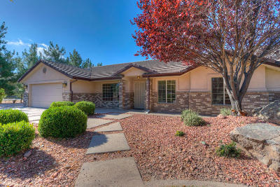 Dammeron Valley Single Family Home For Sale: 1133 N Carters Pond