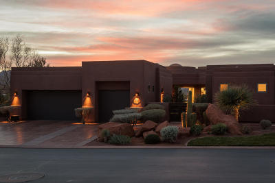 St George UT Single Family Home For Sale: $1,275,000