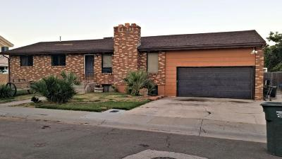 St George Single Family Home For Sale: 1690 W Green Valley Ln