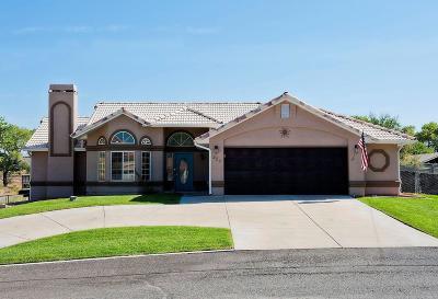 Hurricane Single Family Home For Sale: 220 N 1580 W