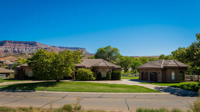 Toquerville Single Family Home For Sale: 1309 Cholla