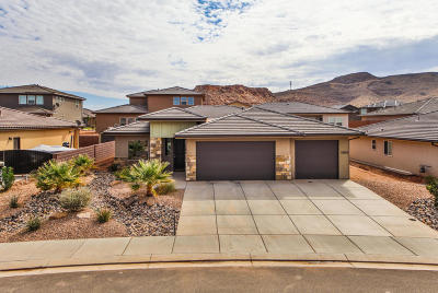 St George Single Family Home For Sale: 5909 S Desert Crest Dr