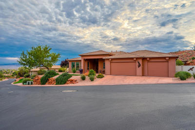 St George Single Family Home For Sale: 1649 N Palo Verde Dr