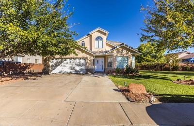 Hurricane Single Family Home For Sale: 4 W 975 N