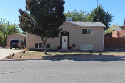 Hurricane Single Family Home For Sale: 65 E 930 N
