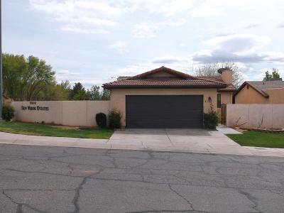 St George Single Family Home For Sale: 585 N Westridge Dr #1