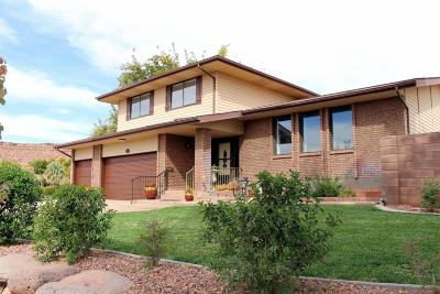 St George Single Family Home For Sale: 2811 S Bloomington