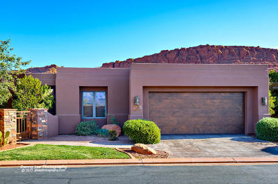 St George Single Family Home For Sale: 2410 W Entrada Trail #33