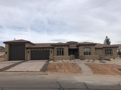 Toquerville Single Family Home For Sale: 1512 Cholla Dr