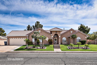 St George Single Family Home For Sale: 722 N Dusk