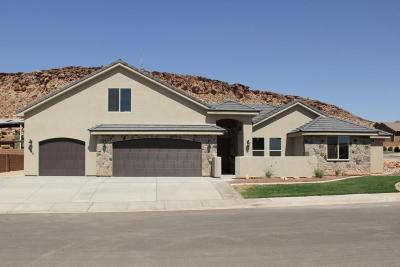 St George Single Family Home For Sale: 2085 E Cozy Cactus Ln