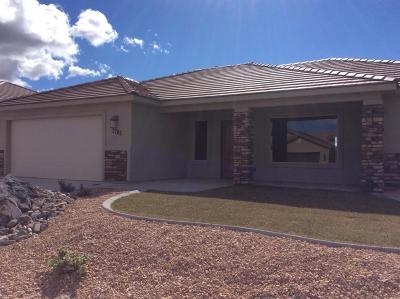Hurricane Single Family Home For Sale: 2697 W 245 N