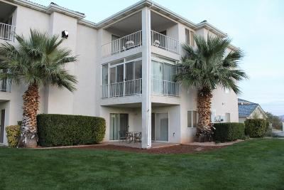 St George Condo/Townhouse For Sale: 1845 W Canyon View Dr #1001