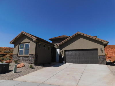 St George Single Family Home For Sale: 1106 N Montana Ln