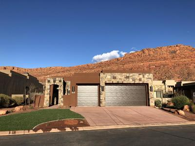 St George UT Single Family Home For Sale: $505,000
