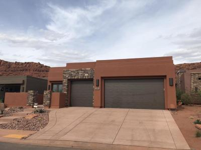St George UT Single Family Home For Sale: $530,000