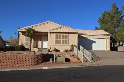 Washington Single Family Home For Sale: 109 E Arrowweed Way