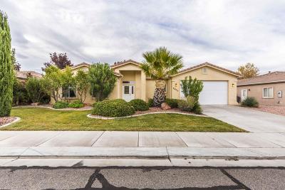 Washington County Single Family Home For Sale: 2643 W 450 N