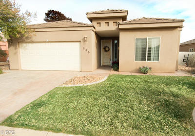 Ivins Single Family Home For Sale: 535 S 625 E