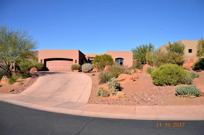 St George Single Family Home For Sale: 2331 W Entrada Trail #86