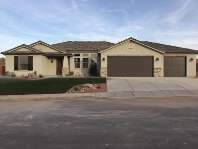 St George UT Single Family Home For Sale: $450,000