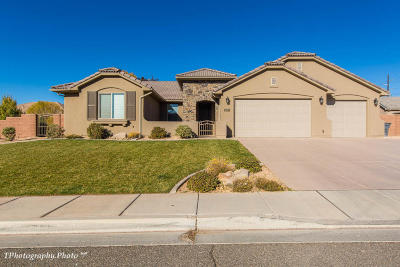 St George Single Family Home For Sale: 2099 Rustic