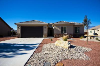 La Verkin Single Family Home For Sale: 661 N 75 E
