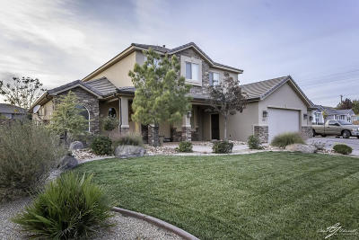 St George Single Family Home For Sale: 2490 S Franklin Cir