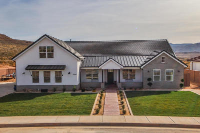 St George Single Family Home For Sale: 3500 Rimrunner Dr