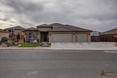 Washington Single Family Home For Sale: 972 E 3740 S