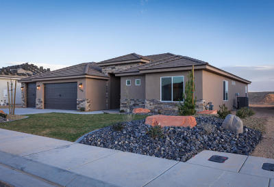 St George Single Family Home For Sale: 3549 E Cove Wash Way