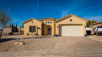 Hurricane Single Family Home For Sale: 861 N 300 E