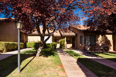 St George UT Condo/Townhouse For Sale: $174,900