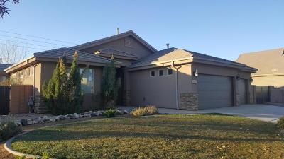 Washington Single Family Home For Sale: 121 W 1965 S