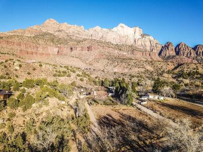 Springdale Residential Lots & Land For Sale: .73 Acre On Zion Park Blvd