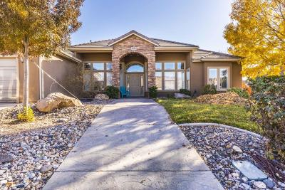 St George Single Family Home For Sale: 2238 E 2610 S