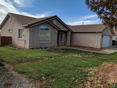 Ivins Single Family Home For Sale: 332 E 170 S