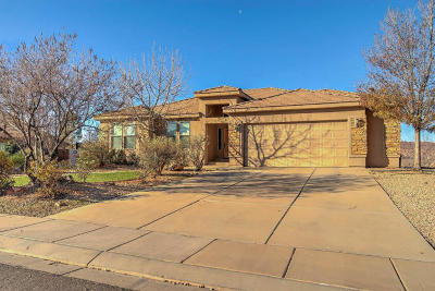 Hurricane Single Family Home For Sale: 357 N 3300 W