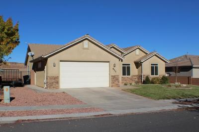 St George Single Family Home For Sale: 631 E 3510 S