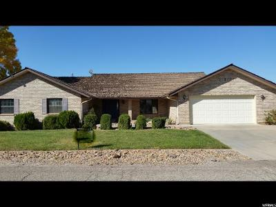 St George Single Family Home For Sale: 1575 Tamarisk