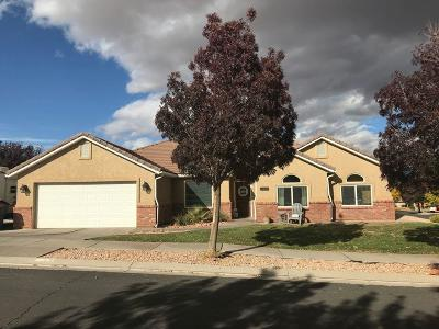 St George Single Family Home For Sale: 619 E 3470 S