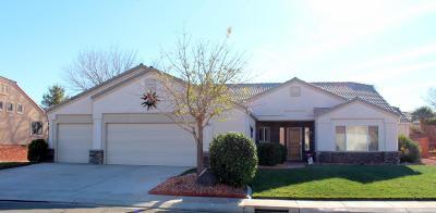 Hurricane Single Family Home For Sale: 2473 W 1050 N