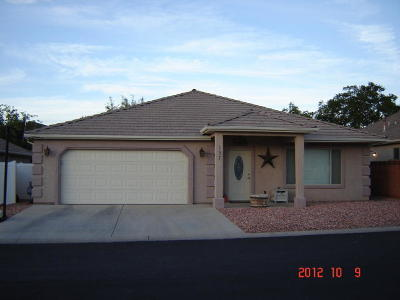Hurricane Single Family Home For Sale: 157 Grouse Dr